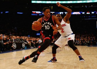 DeMar DeRozan Leads Raptors To 93-89 Win Over Knicks In Last Home Game At MSG