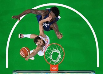 U.S. Men's Basketball Top Spain 82-76 In Rio To Reach Gold Medal Game