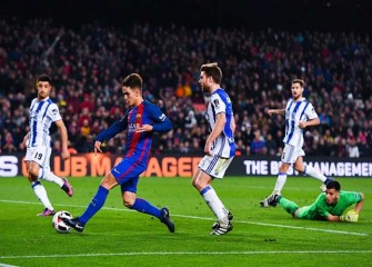 Barcelona Reach Copa Del Rey Semifinal With 5-2 Win Over Real Sociedad