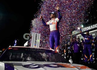 Denny Hamlin Wins In A Photo Finish At The Daytona 500