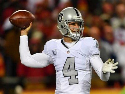 Derek Carr Booed & Chaos Ensues As Raiders Lose Last Home Game In Oakland