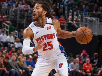 Derrick Rose Says He 'Loves Being In Detroit' Despite Trade Rumors