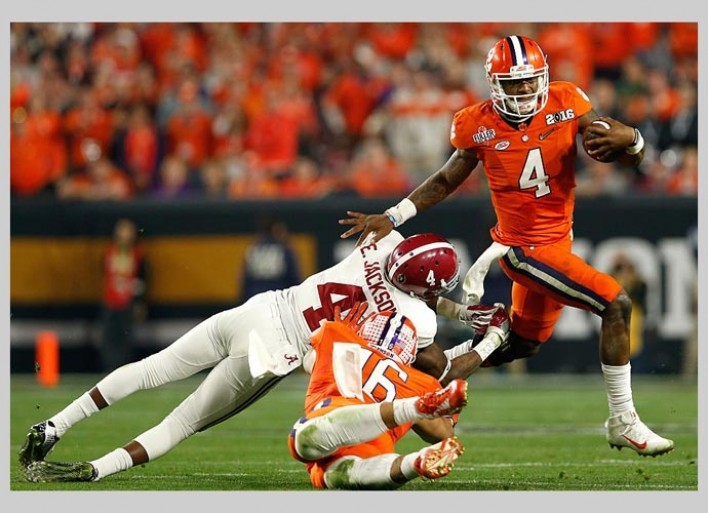 Alabama Stops Deshaun Watson, Clemson To Win National Championship