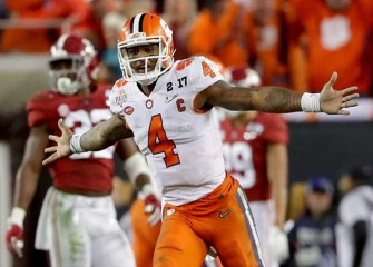 Deshaun Watson, Clemson Edge Alabama 35-31 In Final Second To Win National Championship