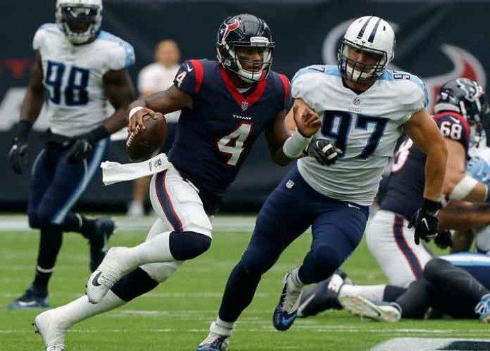 Deshaun Watson Drops 5 TDs TNF As Texans Take Lead In AFC South [VIDEO]