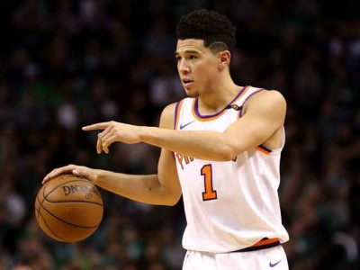 Suns' Devin Booker Leaves Loss To Raptors With Groin Injury [VIDEO]