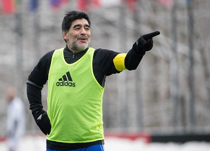 Argentinian Soccer Great Diego Maradona Dies At 60
