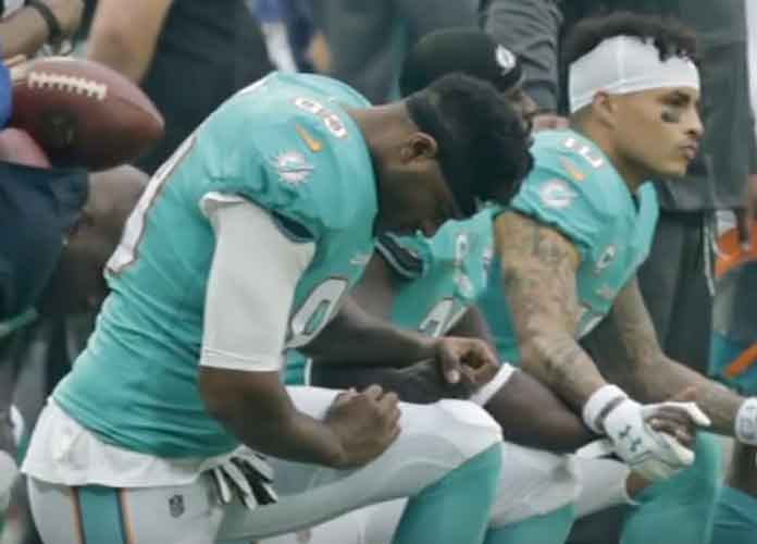 NFL, NFLPA Agree To Temporarily Freeze Anthem Protests Rule After Dolphins Report About Fining Players