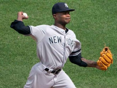 Yankees' Pitcher Domingo German To Serve 81-Game Suspension For Domestic Violence