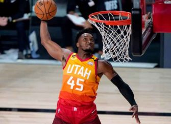 WATCH: Donovan Mitchell Becomes Fourth Player To Score 50 Twice In A Series