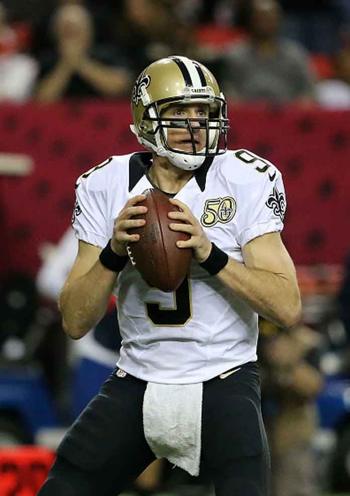 Saints' QB Drew Brees Out With Rib Contusion Injury After Victory Over Buccaneers