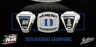 Want To See Duke's NCAA National Championship Ring?