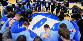 Duke Honors Dean Smith Before Crazy Finale Against UNC