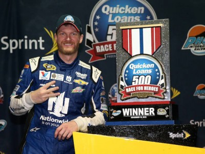 Dale Earnhardt Jr. Took New Strategy Into Xfinity Series Race & Finishes Fifth