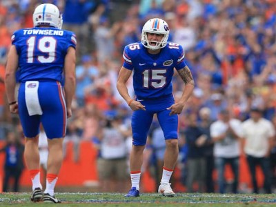 Watch: Florida Kicker Eddy Pineiro Makes 81-Yard Field Goal At Practice, 17 Yards Longer Than NFL Record