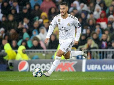 Real Madrid's Midfielder Eden Hazard Recovering From Bruised Ankle, Expected Back In Time For El Clasico