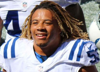 Colts LB Edwin Jackson, 26, Killed By Suspected Drunk Driver; Tributes Pour In
