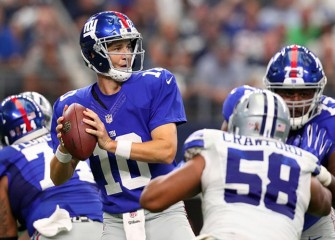 Giants Resist Cowboys' Last-Minute Comeback To Win Season Opener 20-19