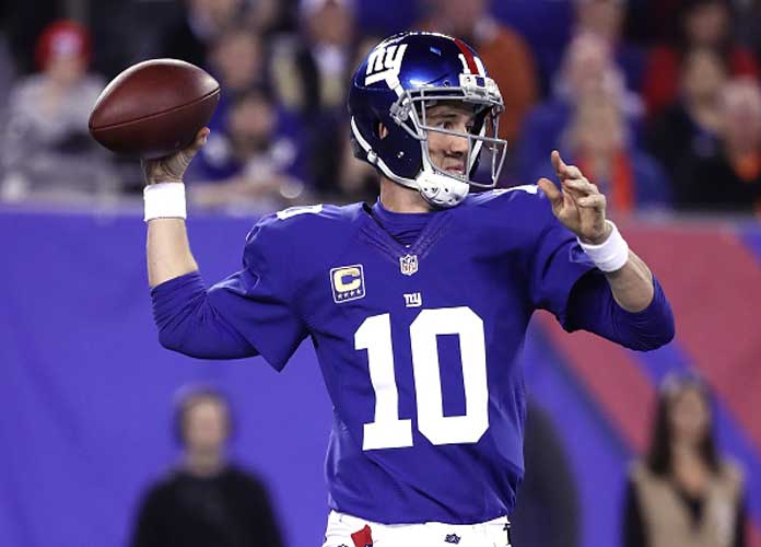 NFL Fans On Twitter React To Eli Manning 'Very Likely' Starting For Giants Vs. Eagles In Week 14 [BEST GIFS]