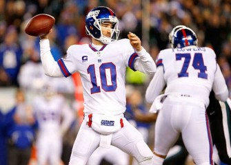 Eli Manning's Three Interceptions Hurt Giants In 24-19 Loss To Eagles
