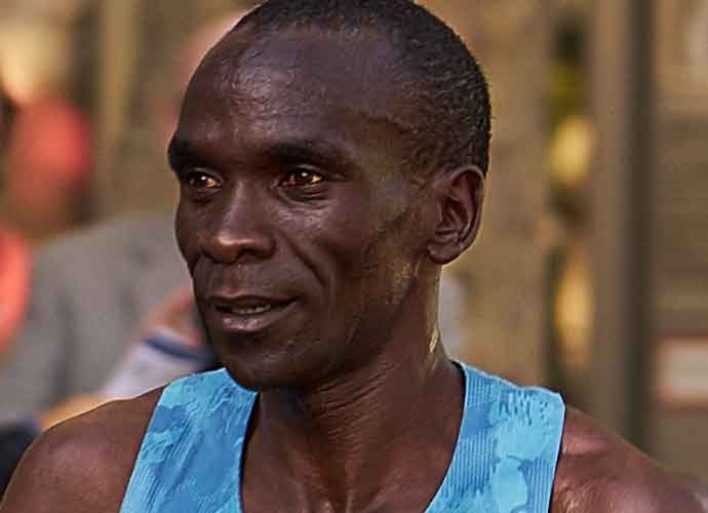 Eliud Kipchoge Becomes First Ever To Run Sub-Two Hour Marathon