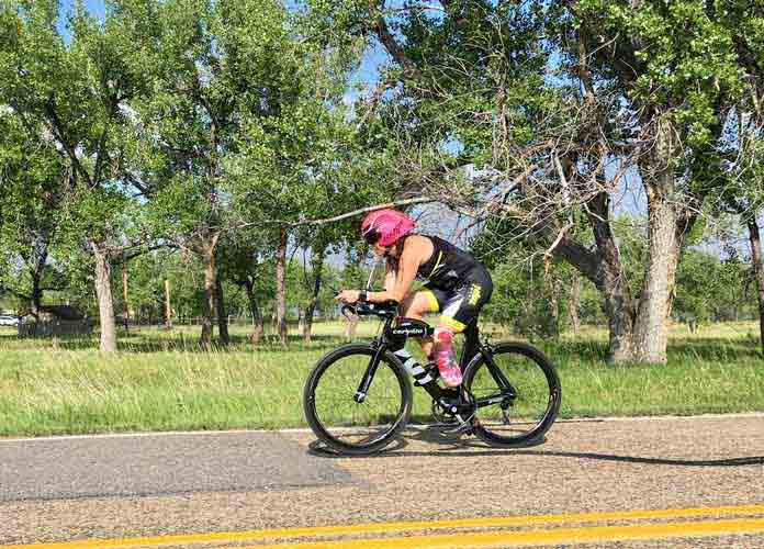 Paratriathlete Emily Harvey On Her Workout Routine, How It Compares To Other Athletes  [VIDEO EXCLUSIVE]