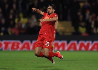 Watch: Liverpool's Emre Can Scores Amazing Overhead-Kick Goal In 1-0 Win Over Watford