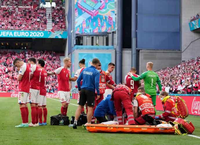 UEFA Invites Christian Eriksen & Medics Who Saved Him To EURO 2020 Final