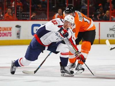 Evgeny Kuznetsov Scores Twice, Capitals Beat Flyers 4-1 For First Win Since Six-Day Break