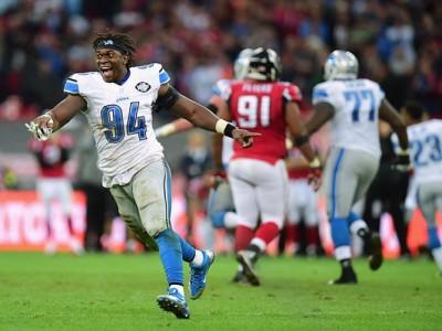 Lions DE Ezekiel Ansah Sidelined By Ankle Sprain