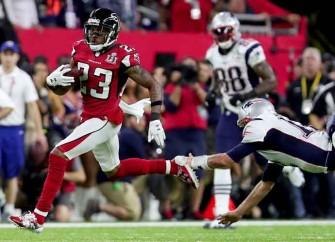 Robert Alford Picks Off Tom Brady, Falcons Lead 21-3