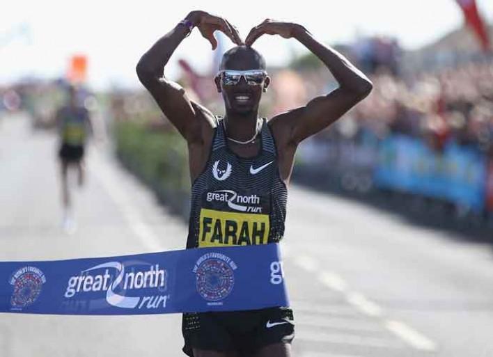 British Olympic Runner Mo Farah 'Promised' 2 Kids He'd Win Gold Medal For Each