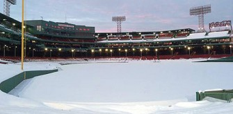 Pictures Of Fenway Park After Massive Snowstorm