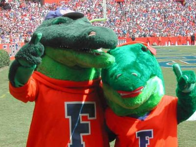 University Of Florida To Ban Its 'Gator Bait' Cheer