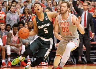 Bryn Forbes' 3-Pointers Lead Spartans To 81-62 Win Over Buckeyes