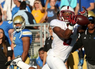 Stanford's Francis Owusu Nails One-Handed Catch
