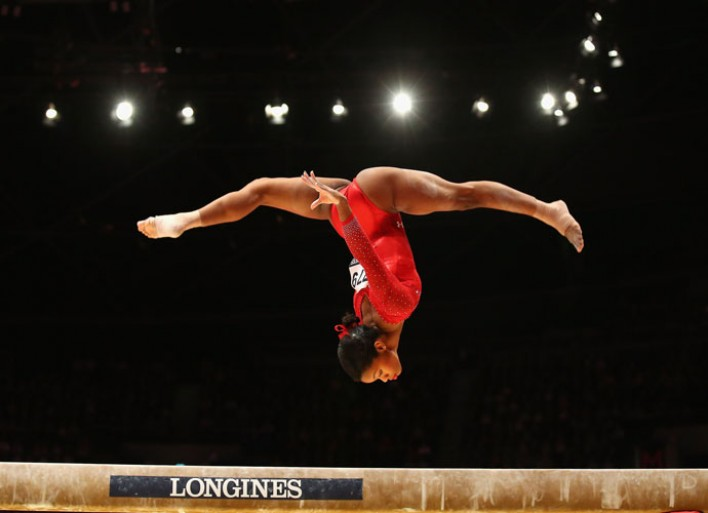 Olympic Gold-Medal Winning Gymnast Gaby Douglas' Pre-Event Workout [Video Exclusive]