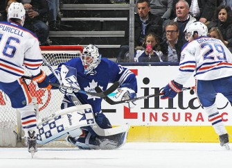 Edmonton Oilers Fall Hard To Last-Place Toronto Maple Leafs And Their Rookie Goalie