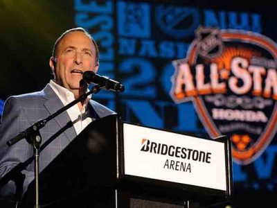 NHL Commissioner Gary Bettman Says Seattle Will Consider Expansion Team Bid