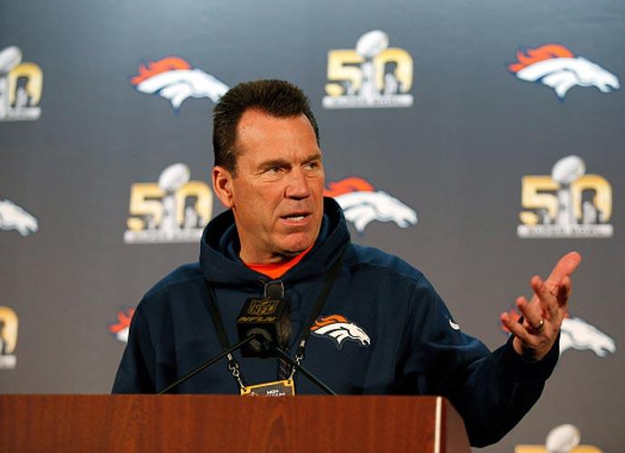 Broncos Coach Gary Kubiak Enters Hospital With Flu-Like Symptoms After 23-16 Loss To Falcons