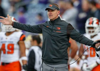 Oregon State Names Interim Head Coach Cory Hall To Replace Gary Andersen
