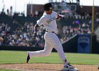 Rockies' Gerardo Parra Leaves Early With Sprained Ankle In 13-10 Win Over Yankees