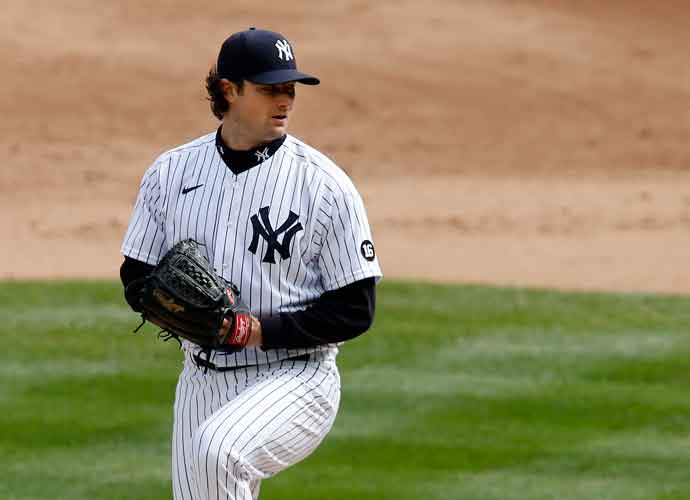 Yankees' Pitcher Gerrit Cole Exits Blue Jays Game With Hamstring Injury