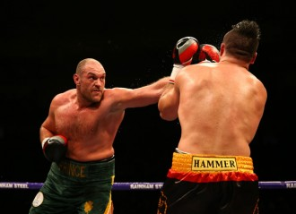 Tyson Fury Withdraws From Title Rematch With Wladimir Klitschko Citing Ankle Injury