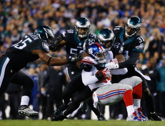 Giants Look Awful In Their Division Loss To Eagles