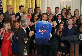 President Obama Recognizes U.S. Women's Soccer's World Cup Victory