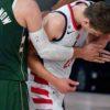 Giannis Antetokounmpo Suspended For Last Seeding Game For Headbutting Moritz Wagner