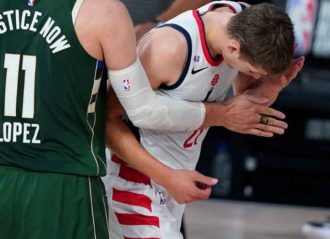 Giannis Antetokounmpo Suspended For Last Seeding Game For Headbutting Moritz Wagner