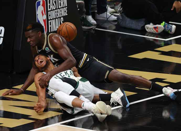 Hawks Rout Bucks 110-88 To Tie Series, AntetokounmpoExits Game With Injury