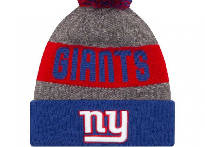 Get The Gear NFL Season Edition: Men's New Era Gray 2016 Sideline Official Sport Knit Hat